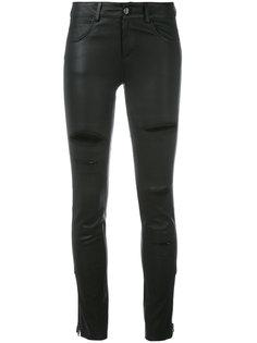 брюки с прорехами Federica Tosi