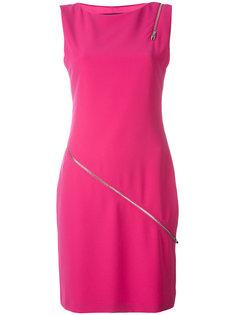 zip detail dress Jeremy Scott