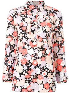 блузка с цветочным принтом Agnona