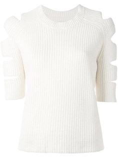 свитер с вырезами на плечах Nobel  Zoe Jordan