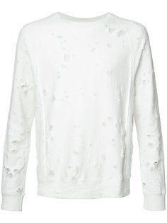 distressed sweatshirt The Soloist