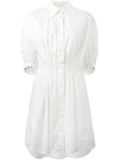 платье-рубашка с эластичным поясом Sonia Rykiel