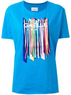 футболка с отделкой Gaelle Bonheur