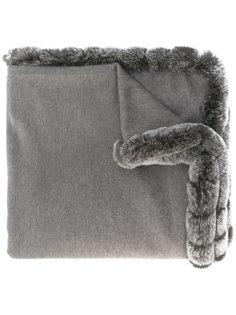 woven long shawl N.Peal