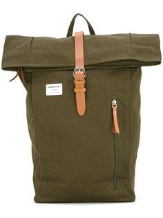 рюкзак с кожаной отделкой Sandqvist