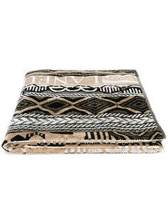 пляжное полотенце с геометрическим узором Laneus