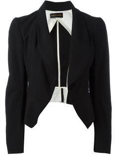 укороченный пиджак без застежек Comme Des Garçons Vintage