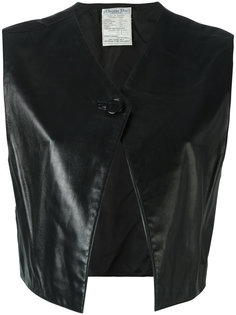жилет на пуговице Christian Dior Vintage