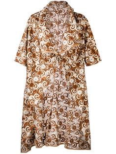 легкое вышитое пальто  Comme Des Garçons Vintage