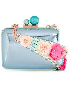 сумка с ремнем с фактурной отделкой Sophia Webster