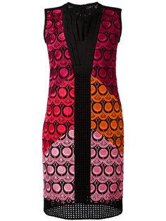 pleated neckline dress Capucci