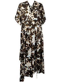 floral-print dress Christian Wijnants