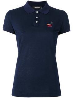 футболка-поло с принтом-логотипом с сигаретой Dsquared2