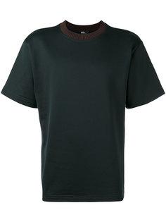ribbed neck T-shirt Kolor
