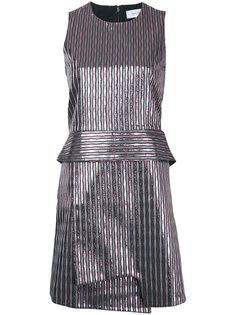 striped metallic mini dress Carven