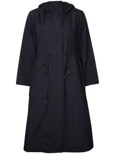 пальто с капюшоном и завязками Le Ciel Bleu