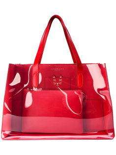сумка-тоут с прозрачной панелью Charlotte Olympia