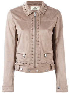 studded cropped jacket Urbancode