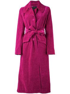 Бархатное пальто Marc Jacobs