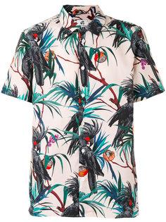 рубашка с тропическим рисунком Paul By Paul Smith