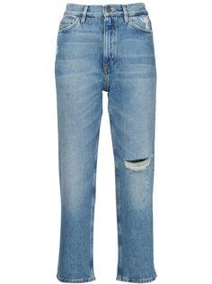 джинсы с потертой отделкой Mih Jeans