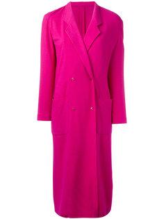 легкое двубортное пальто  Kenzo Vintage