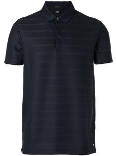 полосатая рубашка-поло Boss Hugo Boss