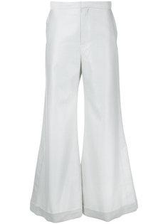 полосатые брюки палаццо Irene