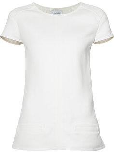 hem detail T-shirt Courrèges