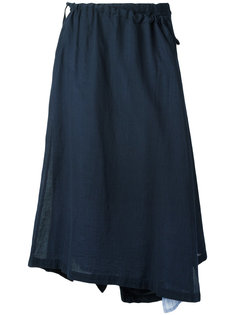 асимметричная юбка с запахом Ys Y`s