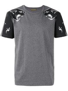 футболка с принтом пантер Valentino