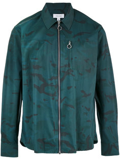 рубашка на молнии с камуфляжным принтом  Soulland