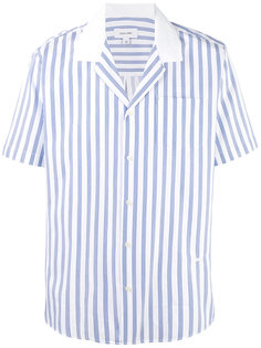 рубашка в полоску с короткими рукавами  Soulland