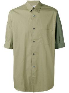 рубашка с контрастным рукавом Comme Des Garçons Shirt