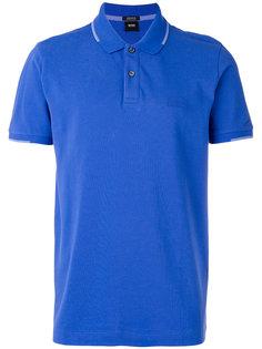рубашка-поло с вышивкой Boss Hugo Boss