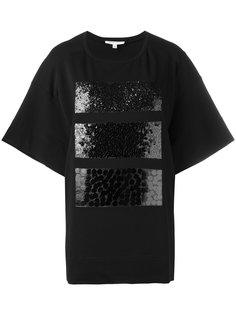 футболка декорированная пайетками Io Ivana Omazic