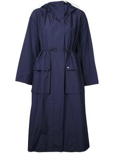 пальто с капюшоном и шнурком Le Ciel Bleu