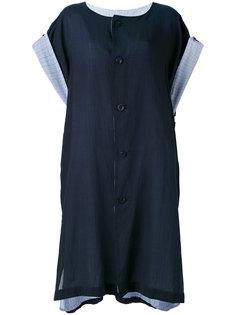 платье-туника на пуговицах  Ys Y`s