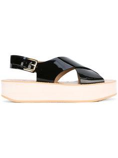 flatform sandals Flamingos