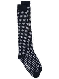 носки с мелким узором Fefè