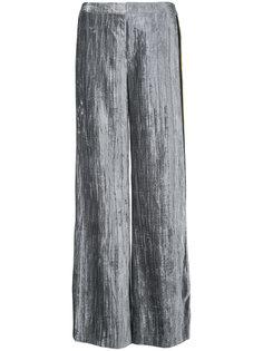 бархатные брюки с полосками  Irene