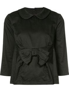 блузка с бантом на талии Comme Des Garçons Comme Des Garçons