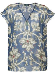 блузка с цветочным принтом Alena Akhmadullina