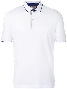 рубашка-поло с молнией Armani Collezioni