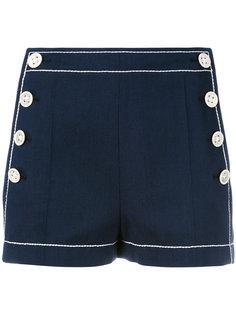 шорты с пуговицами по бокам Agnona