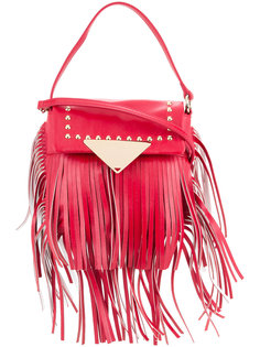 fringed studded crossbody bag Sara Battaglia