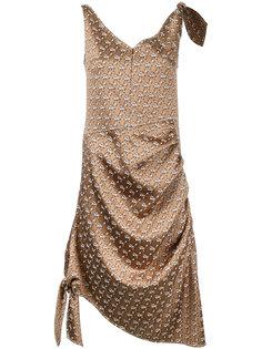 jacquard knot detail dress  Irene