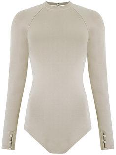 round neck bodysuit Egrey