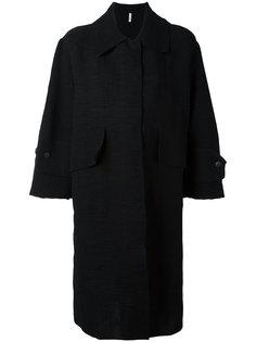 пальто миди с рукавами три четверти Boboutic