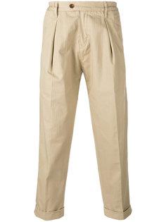 укороченные брюки со складками  Levis: Made & Crafted